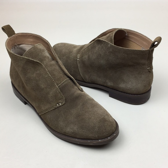 Franco Sarto Isolde Suede Ankle Booties